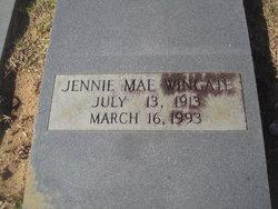 Jennie Mae Wingate