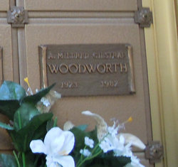 A Mildred <i>Gilstrap</i> Woodworth