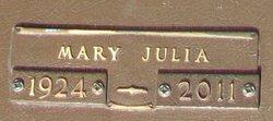 Mary Julia <i>McWherter</i> Bowie
