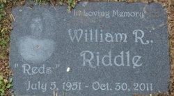 William Robert Reds Riddle, Sr