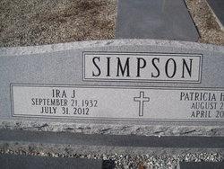 Ira J Simpson