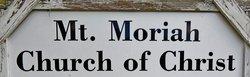 Mount Moriah Church Cemetery