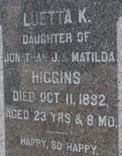 Luetta K. Higgins