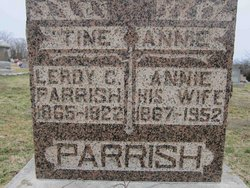 Anna Eliza Annie <i>Walker</i> Parrish