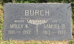 Mollie Katherine <i>Shields</i> Burch