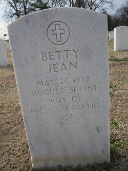 Betty Jean Calvert