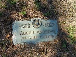 Alice T Andrews