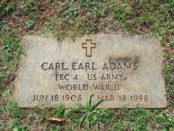 Carl Earl Adams