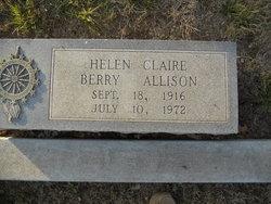 Helen Claire <i>Berry</i> Allison