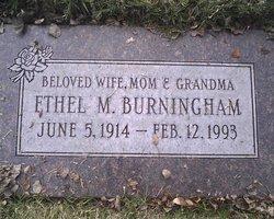 Ethel M Burningham