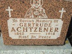 Gertrude Achtzener