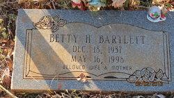 Betty H Bartlett