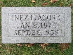 Inez L Acord