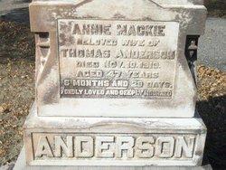 Annie <i>Mackie</i> Anderson
