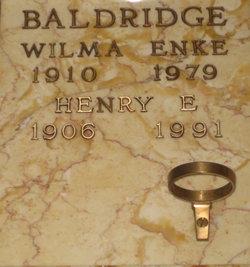 Wilma <i>Enke</i> Baldridge