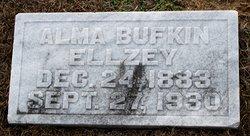 Alma <i>Bufkin</i> Ellzey