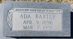 Ada Baxter