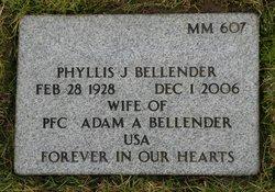 Phyllis J <i>Schwindt</i> Bellender