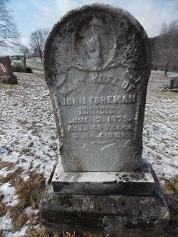 Mary Pauline Polly <i>Ziegler</i> Foreman