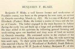 Benjamin Blake
