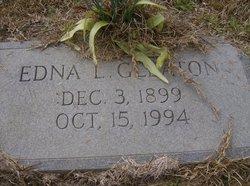 Mary Edna <i>Livingston</i> Gleaton