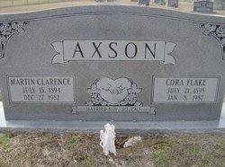 Cora <i>Flake</i> Axson