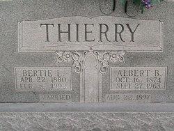 Bertie L <i>Bishop</i> Thierry