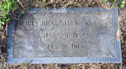 Early Doris Doris <i>Bradshaw</i> Weaver