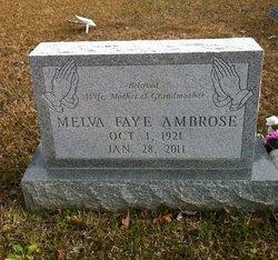 Melva Faye <i>Weatherly</i> Ambrose