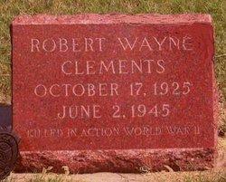 Robert Wayne Clements