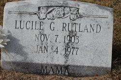 Lucile Amanda Estelle <i>Gilmore</i> Rutland