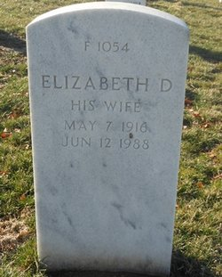 Elizabeth D Curtis