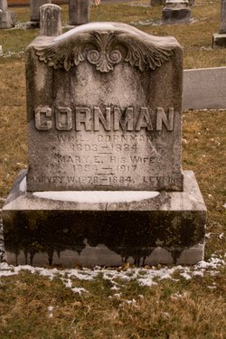 Mary E <i>Low</i> Cornman