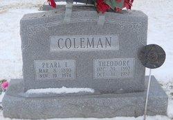 Pearl I Coleman