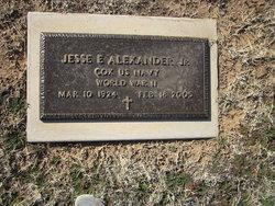Jesse E Jr Alexander
