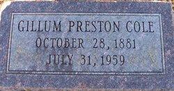 Gillum Preston Cole