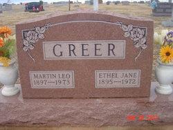 Ethel Jane <i>Dunham</i> Greer