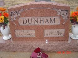 Edith Mildred Elizabeth <i>Heckerman</i> Dunham