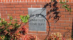 Black Community Cemetery