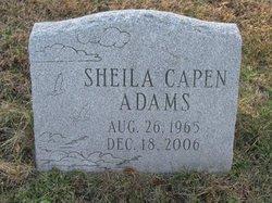 Sheila <i>Capen</i> Adams