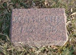 Elizabeth Judith <i>Hill</i> Wills