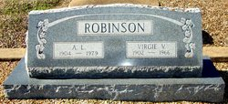 Virgie Velma <i>Spangler</i> Robinson