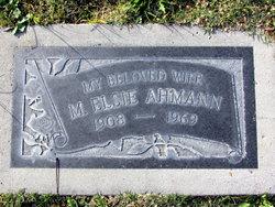 Minnie Elsie <i>Parish</i> Ahmann