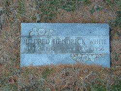 Mildred <i>Hendrick</i> White