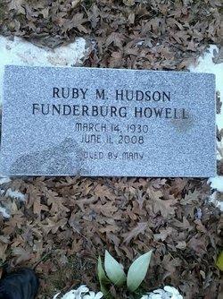 Ruby Mae <i>Hudson</i> Funderburg-Howell