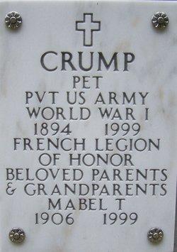 Pet Crump