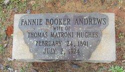 Fannie Booker <i>Andrews</i> Hughes