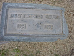 Janet <i>Fletcher</i> Walker