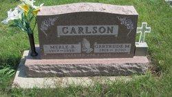 Gertrude Marilla <i>Van Schaick</i> Carlson