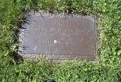 Roselma <i>Brashear</i> Liston